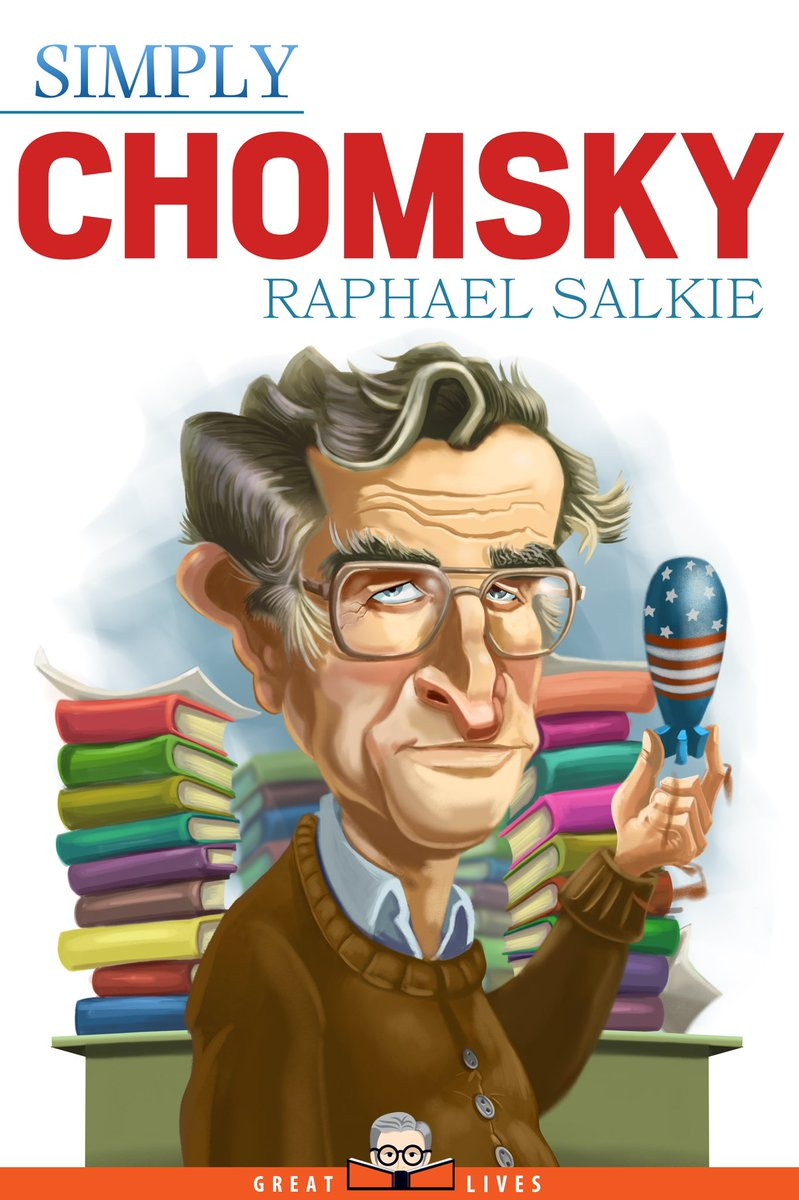 RT @msmling: #NoamChomsky wrote over 100 books on topics such as linguistics, war, politics, and mass media https://t.co/swuSY0jNyZ