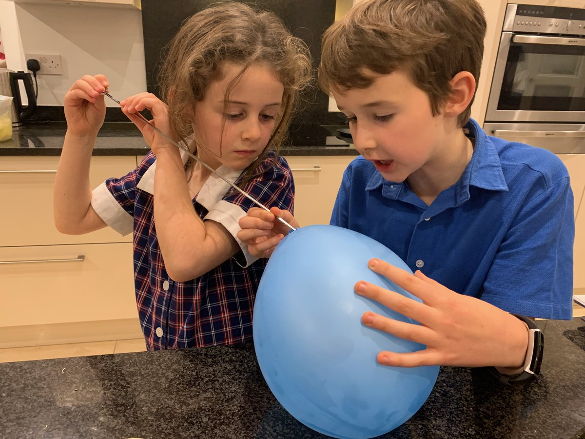 We love this! Well done both of you - science in action even in half term . . . you just can't stop our young scientists!  #STEM #STEMeducation #Science #AlwaysLearning #Henley #Goring #Reading #Oxfordshire