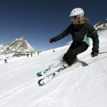 Image for the Tweet beginning: It's open! The Cervinia area
