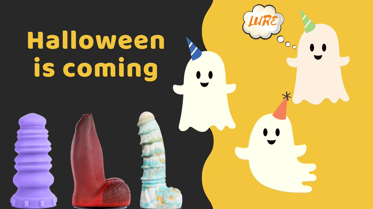  Halloween is coming  What color do you think is Halloween? 🔛lifelure.aliexpress.com #LURE #Aliexpress #gayfisting #fisting #anal #dildo #extreme #gape #holetraining