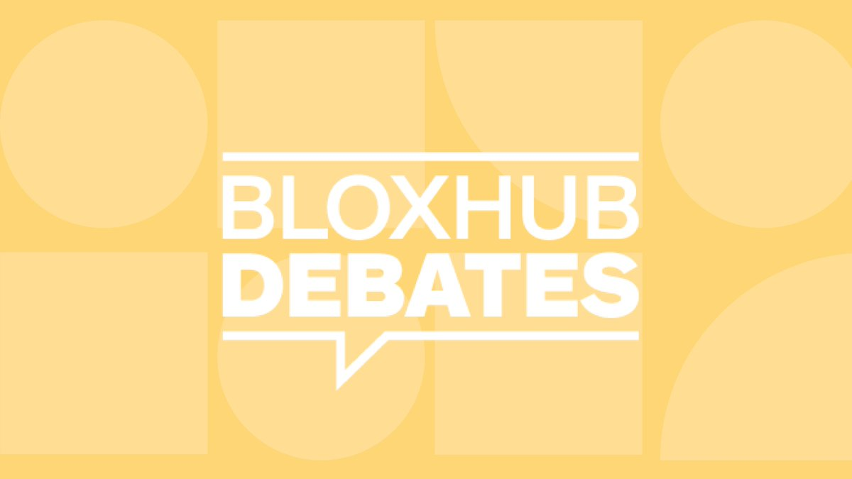 """JOIN US for our fall event series """"Designing the Irresistible Circular Society""""   BLOXHUB DEBATES: NO ONE LEFT BEHIND: HOW DO WE BUILD INFRASTRUCTURE FOR A CIRCULAR FUTURE WE HAVEN'T YET IMAGINED? October 28th at 4.00 pm - 5.15 pm. Sign up here:https://t.co/17j9OEJpnK"""