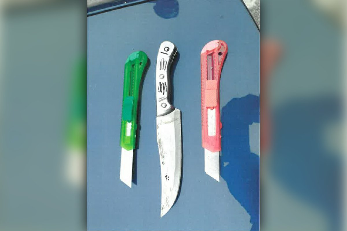 A driver who was caught without a licence or insurance - as well as three knives in his car - has been jailed: bit.ly/3FWQOFH