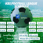 Image for the Tweet beginning: The first ever KBS Football