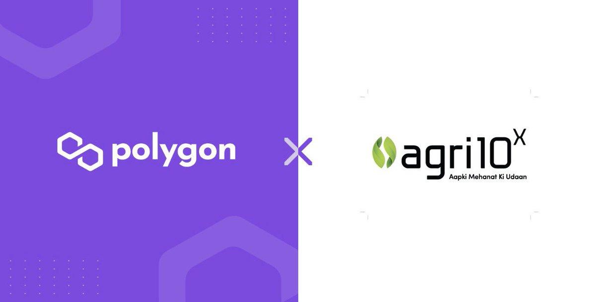 Agri10x integrates with @0xPolygon prnewswire.com/in/news-releas…