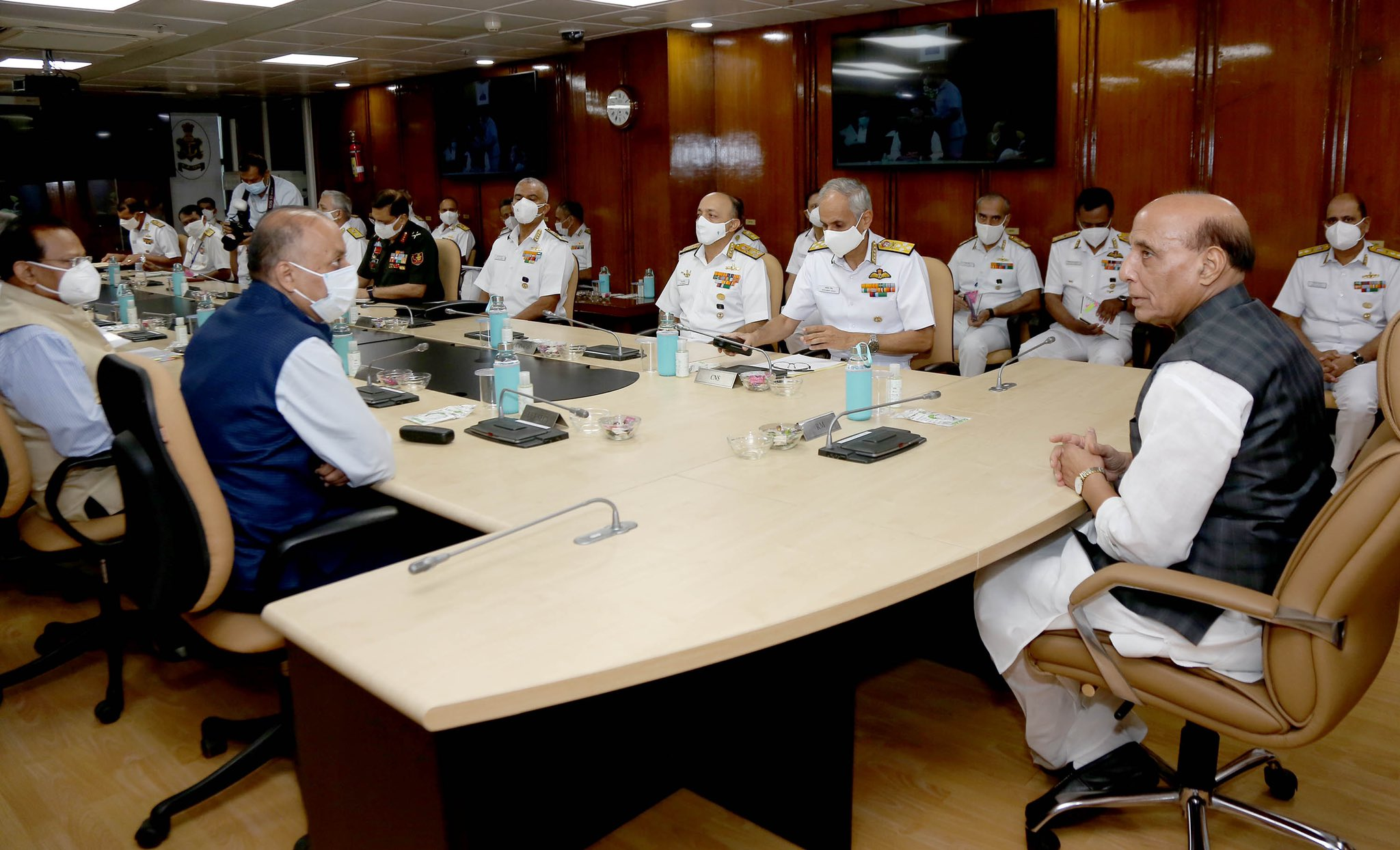 Naval Commanders' Conference: As a responsible maritime stakeholder India supports rule-based stable world order, says Rajnath