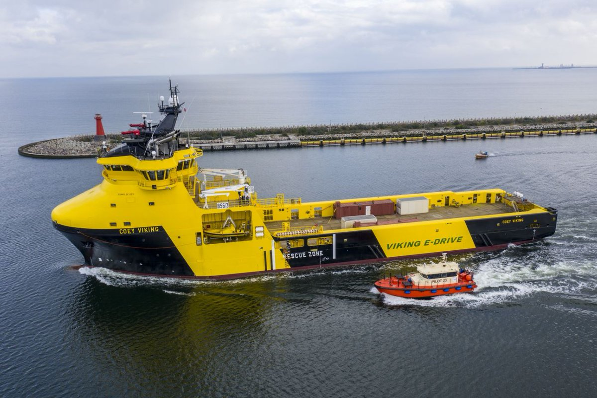 Say 'HY' to the Coey Viking and Cooper Viking – 2 already highly competitive PSVs that are now benefiting from even greater efficiency and lower emissions thanks to the Wärtsilä HY state-of-the-art hybrid battery power supply system. Find out more here: wartsi.ly/2YSeJ8l