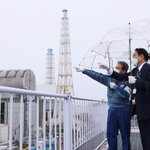 Image for the Tweet beginning: The Prime Minister visited Fukushima