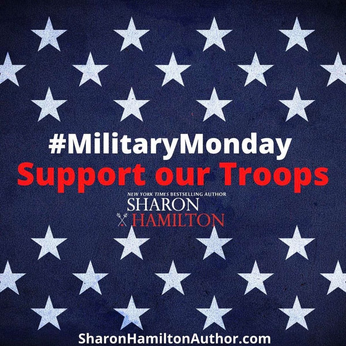 Military Monday -- Support Our Troops  #SOT #SupportourTroops #USMilitary #Gratitude #GiveThanks #Salutes #ThankYouForYourService #MilitaryMonday