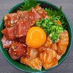 贅沢気分を味わいたいときにもぴったりそう!サーモン&マグロを使った「漬け丼」レシピ!