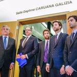 Image for the Tweet beginning: #DaphneCaruanaGalizia con il suo lavoro