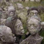 Image for the Tweet beginning: Ghanaian artist Kwame Atoko Bamfo