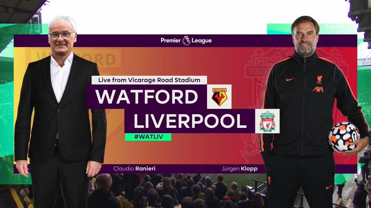 Full match: Watford vs Liverpool