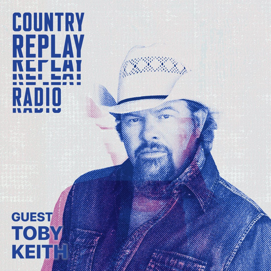 Add @tobykeith's new album #PesoInMyPocket to your library and check out his interview with @lukelaird on #CountryReplay Radio. Listen: apple.co/CRRadio