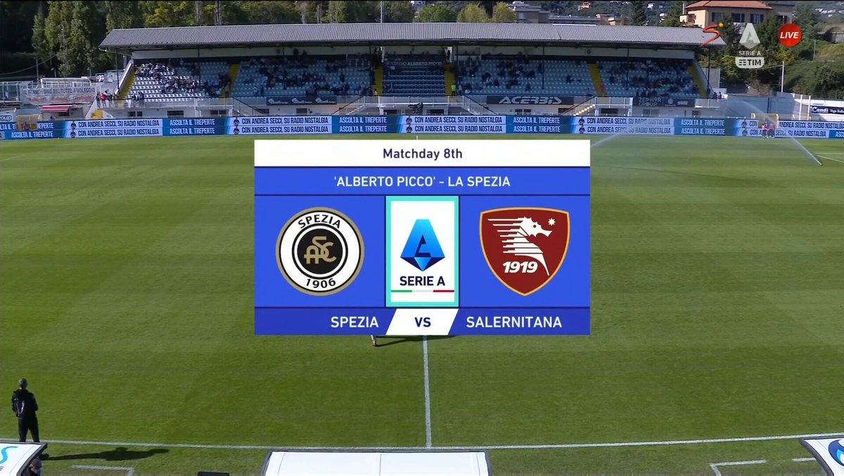 Spezia vs Salernitana Highlights 16 October 2021
