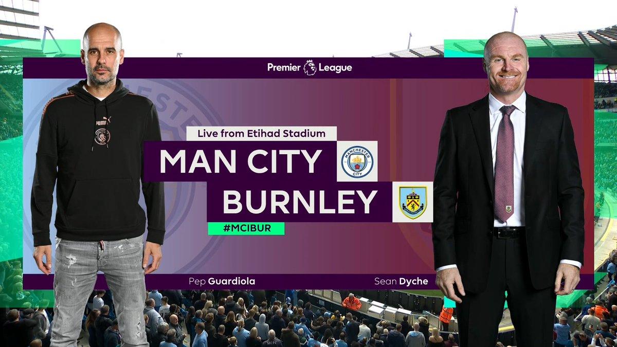 Full match: Manchester City vs Burnley