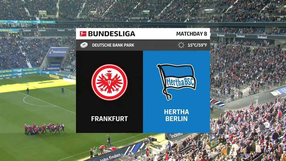 Frankfurt vs Hertha Berlin Highlights 16 October 2021