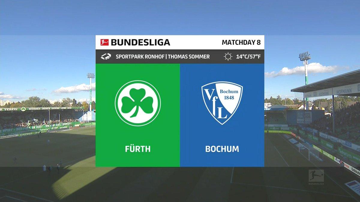 Greuther Furth vs Bochum Highlights 16 October 2021