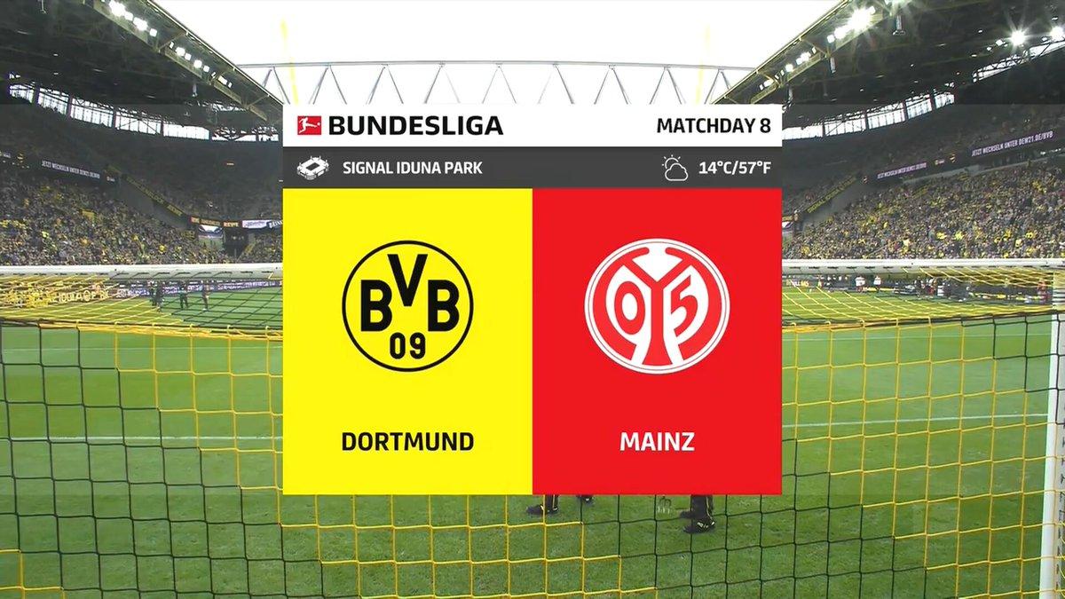 Full match: Borussia Dortmund vs Mainz