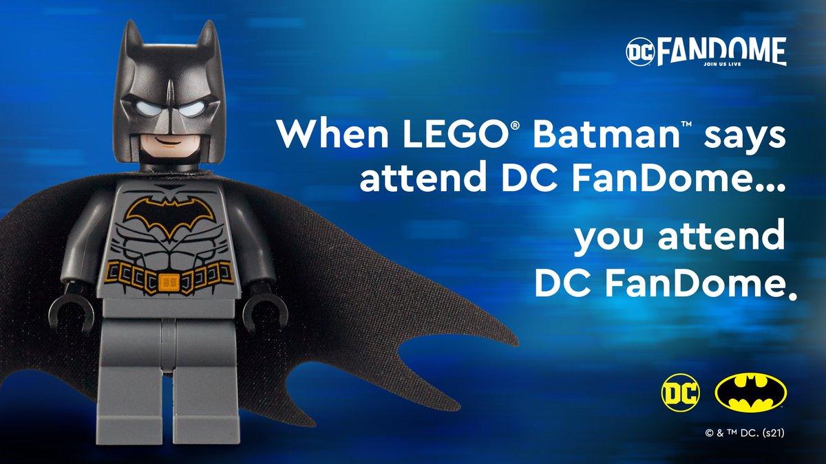 What he said! ⬇️ DCFanDome.com #DCFanDome #LEGOBatman
