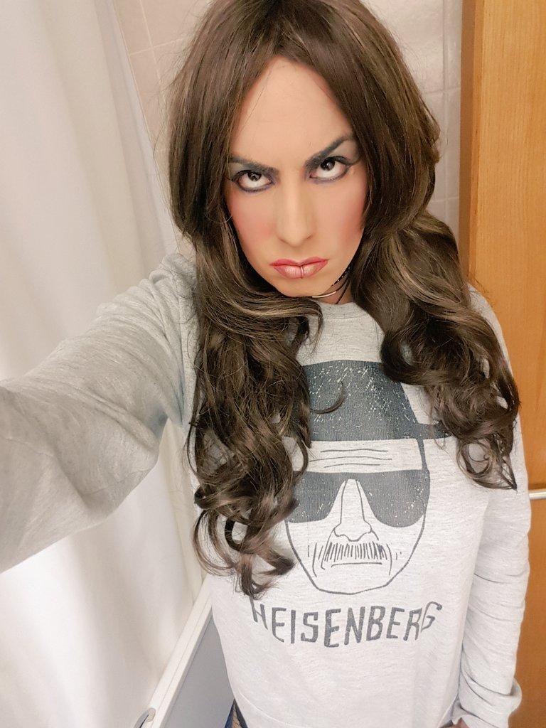 Just remember one damn thing....I'm the one who knocks #m2f #transisbeautiful #femboi #crossdresser