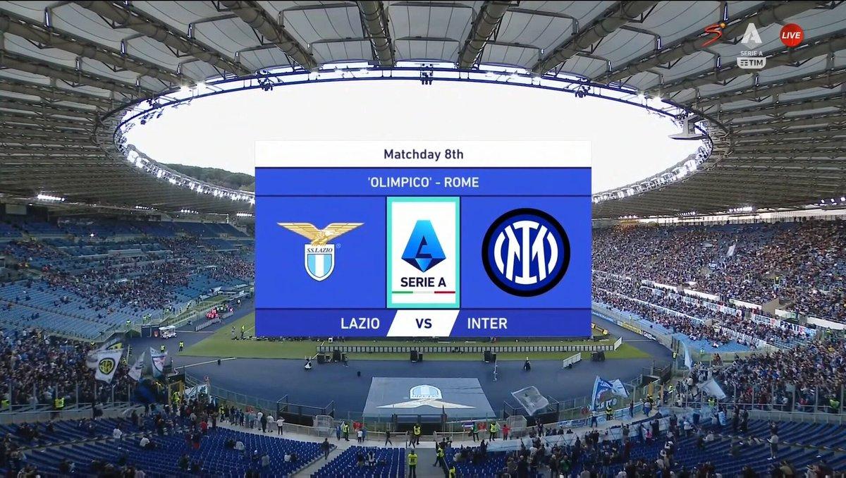 Full match: Lazio vs Inter Milan