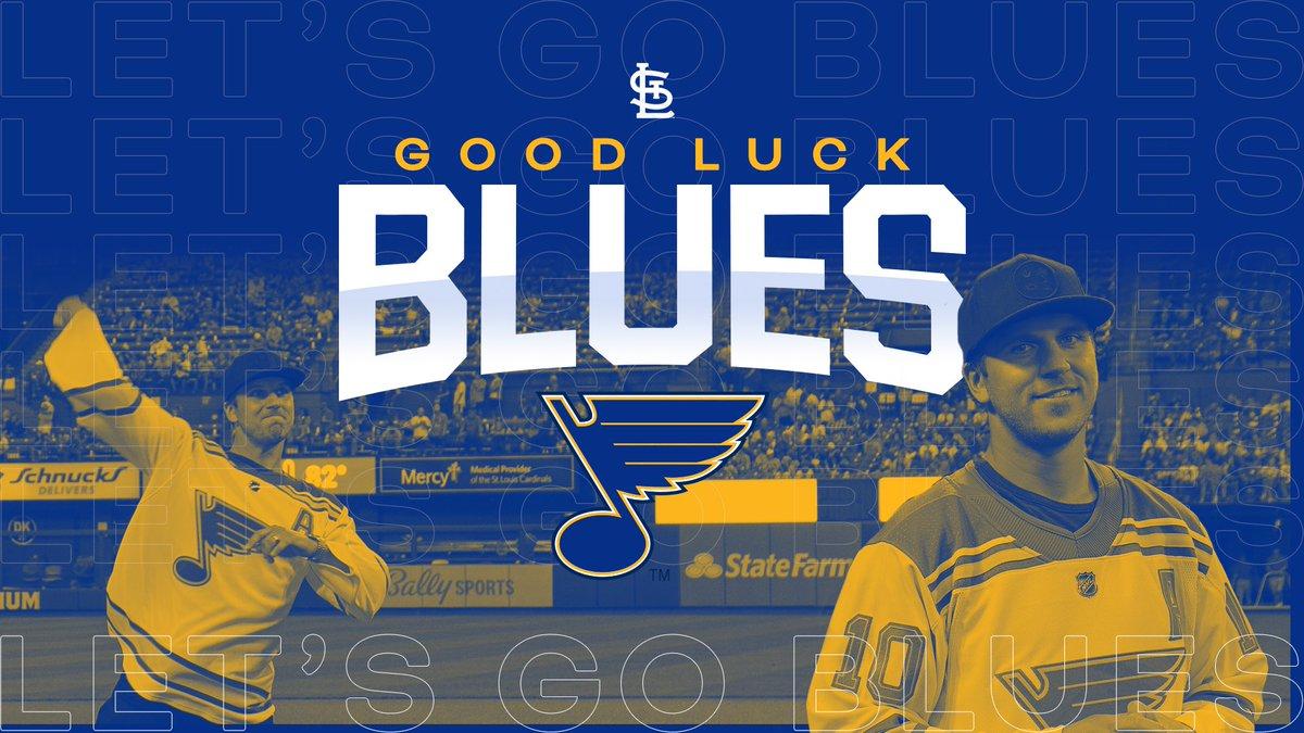 LET'S 👏 GO 👏 BLUES!
