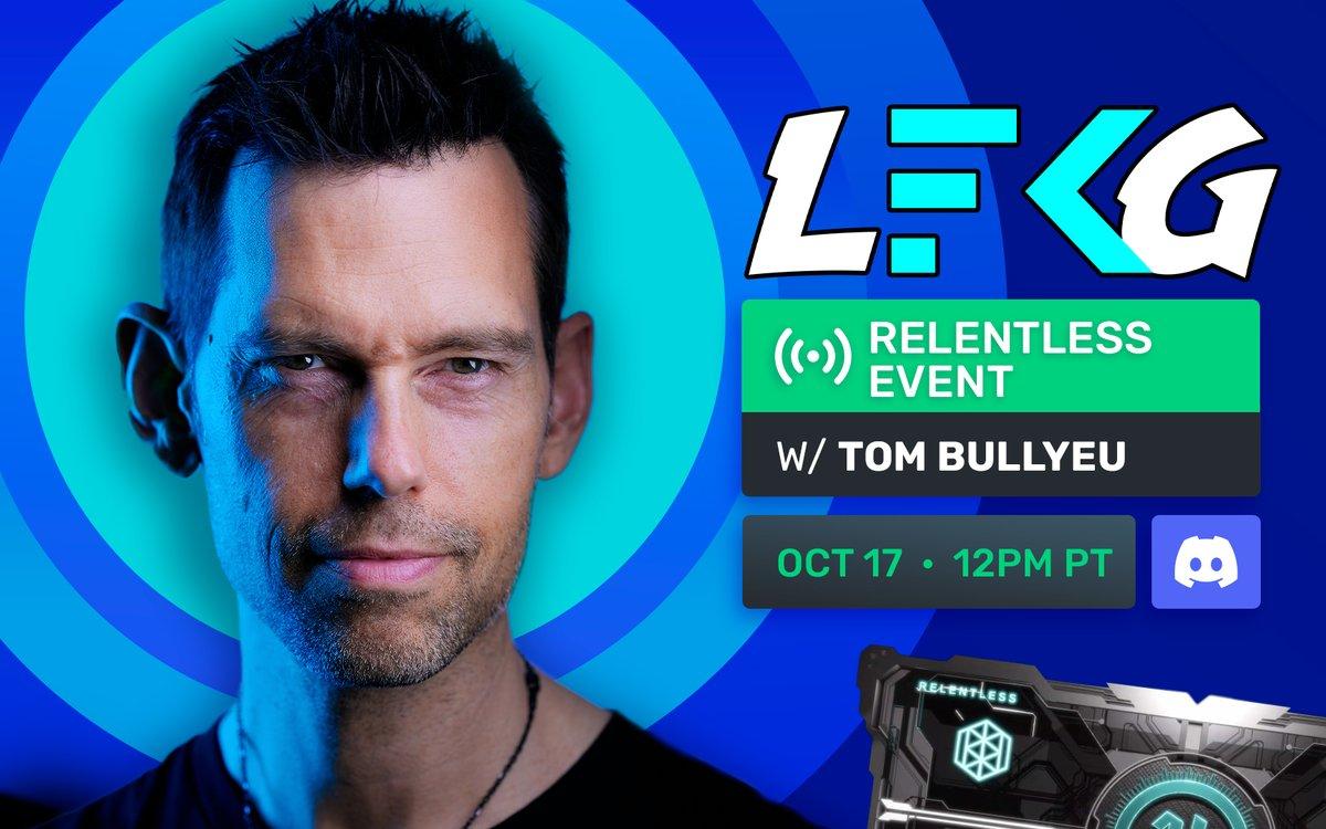 LFKG - Tomorrow. 12PM Pacific. ImpactTheory.com/Discord 🔑Up ➡️ founderskey.io