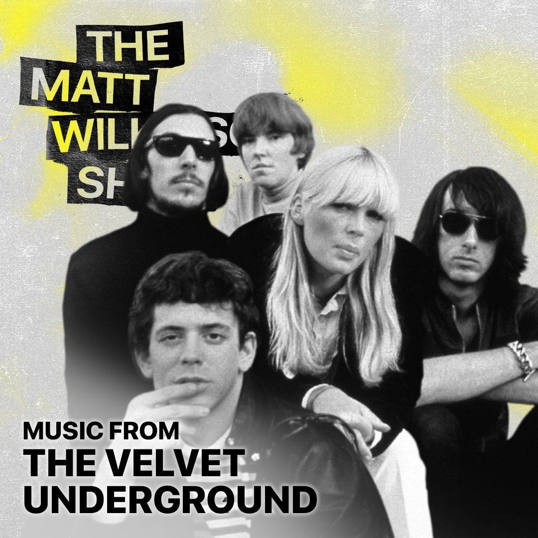 #TheVelvetUnderground documentary is out now on @AppleTVPlus. ⚡ @w1lko celebrates by playing the essential tracks that made them one of the most influential rock 'n' roll bands of all time. apple.co/Matt-Wilkinson