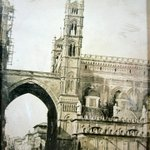 Image for the Tweet beginning: Cattedrale di Palermo anno 1184
