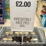 Image for the Tweet beginning: Mice pie season comes round
