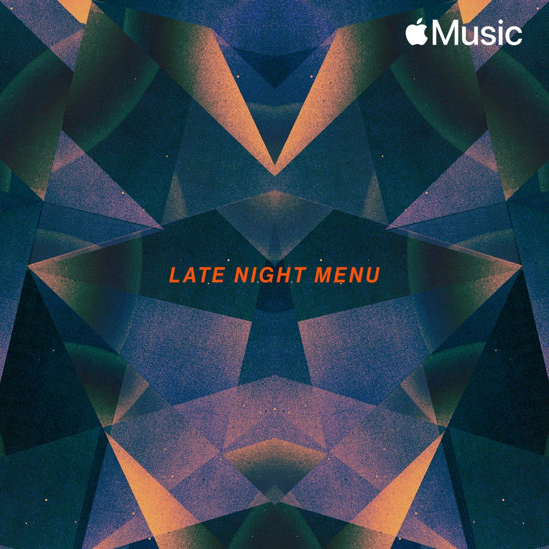 A soundtrack for after hours. Listen to @jamesblake's takeover of #TheLateNightMenu playlist featuring music from @phoebe_bridgers, @slowthai, @mmonicamartinn and more. apple.co/LateNightMenu-…