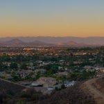 Image for the Tweet beginning: Skyline views overlooking La Sierra.