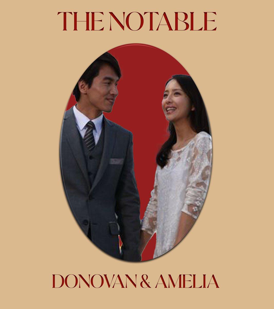 ㅤ 欢迎回家, GOSIENGFIAOs.⠀ GOSIENGFIAO, Donovan & Amelia ────── THE NOTABLE.⠀⠀ ㅤ
