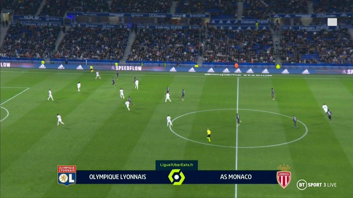 Lyon vs Monaco Highlights 16 October 2021