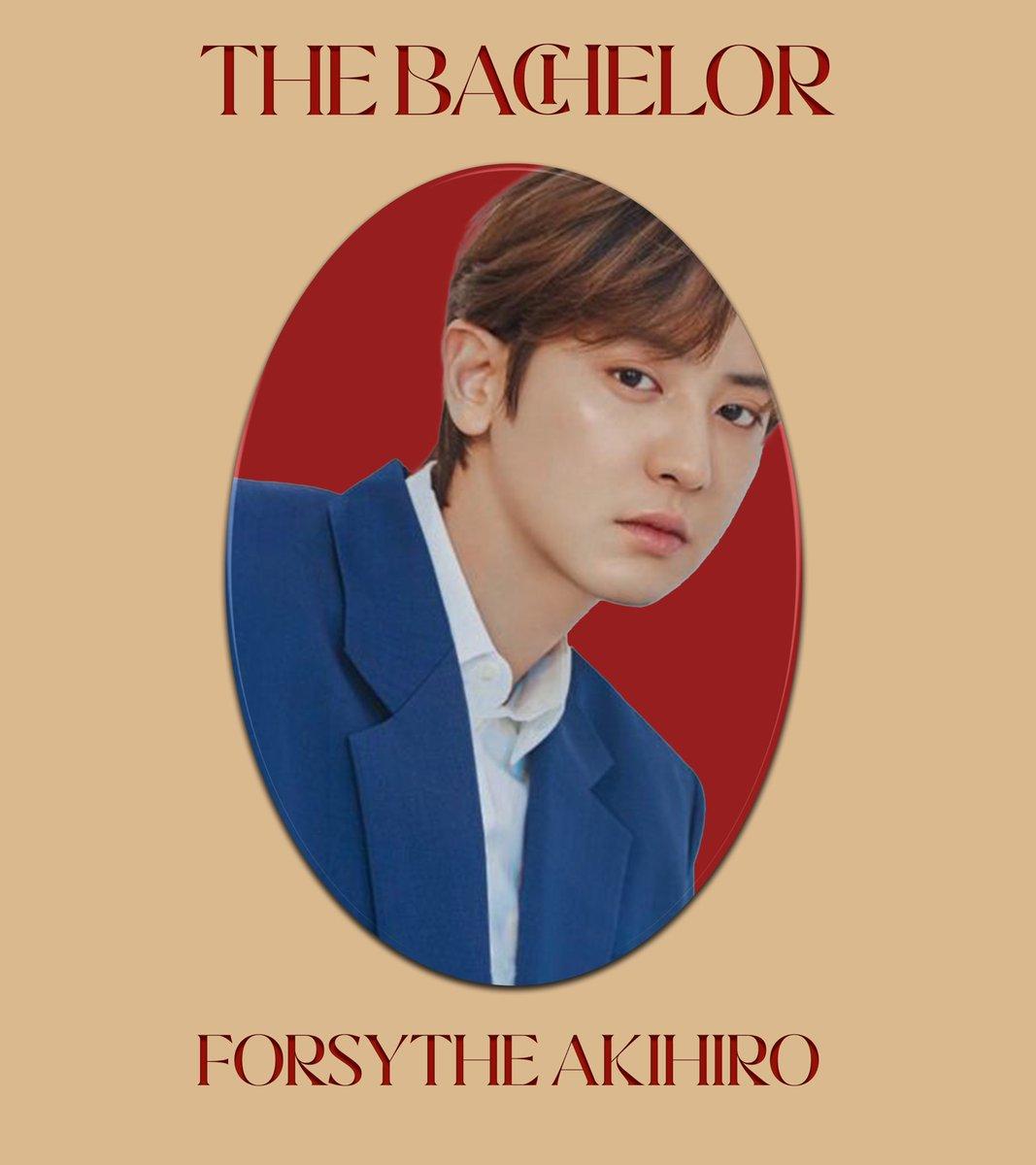 ㅤ 欢迎回家, GOSIENGFIAOs.⠀ GOSIENGFIAO, Forsythe Akihiro ────── THE BACHELOR.⠀⠀ ㅤ