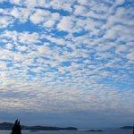 Image for the Tweet beginning: Early morning clouds over #Cavtat