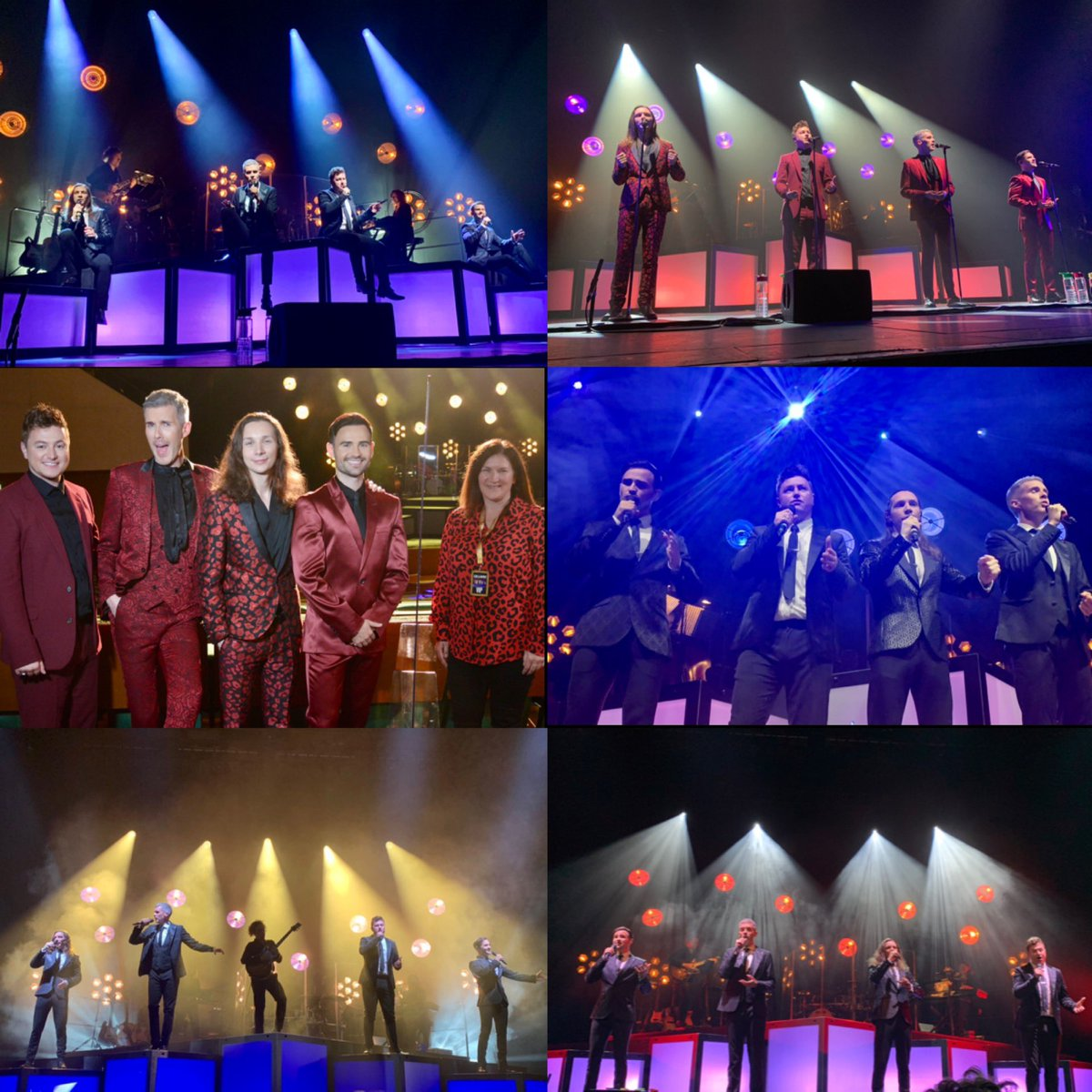 Well @Collabro - that was Week One!!!! Such an amazing show with THE perfect set list. You guys sound incredible and it's soo good to be back in my happy place 🥰 I'm loving every second of your Greatest Hits tour and I can't wait to do it again 🤩 #CollabroTour ❤️❤️❤️❤️