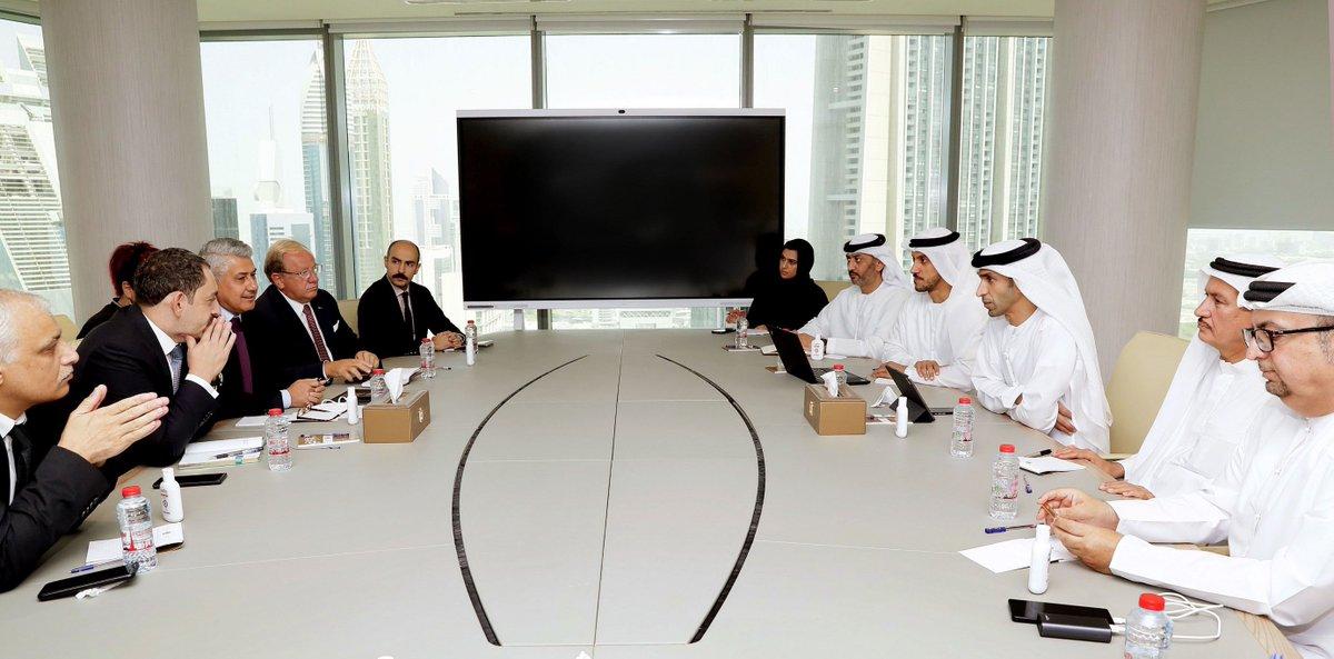 UAE, Turkey Discuss Boosting Economic Cooperation
