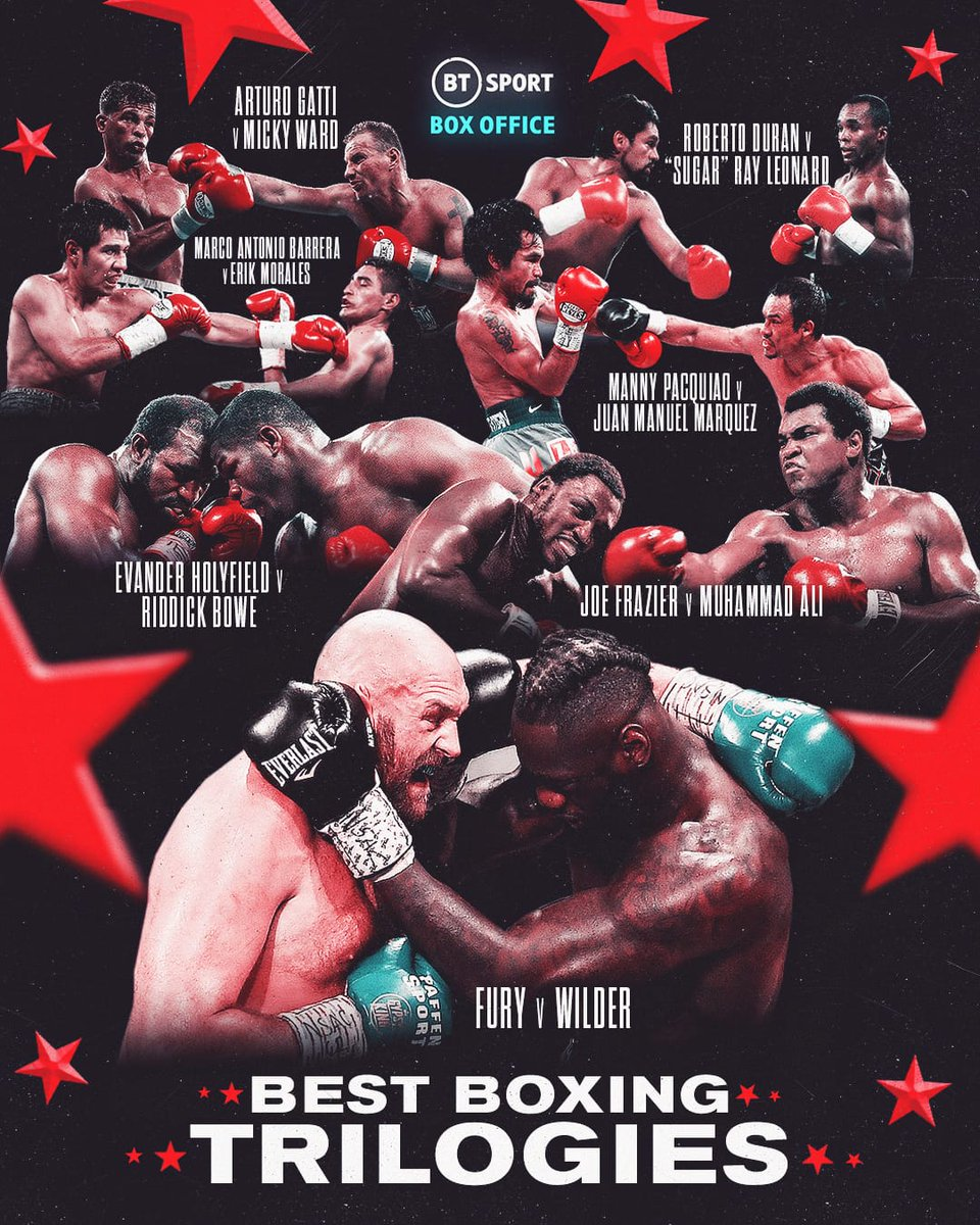 #FuryWilder3 was an epic final chapter to an incredible trilogy! What's your favourite boxing trilogy?