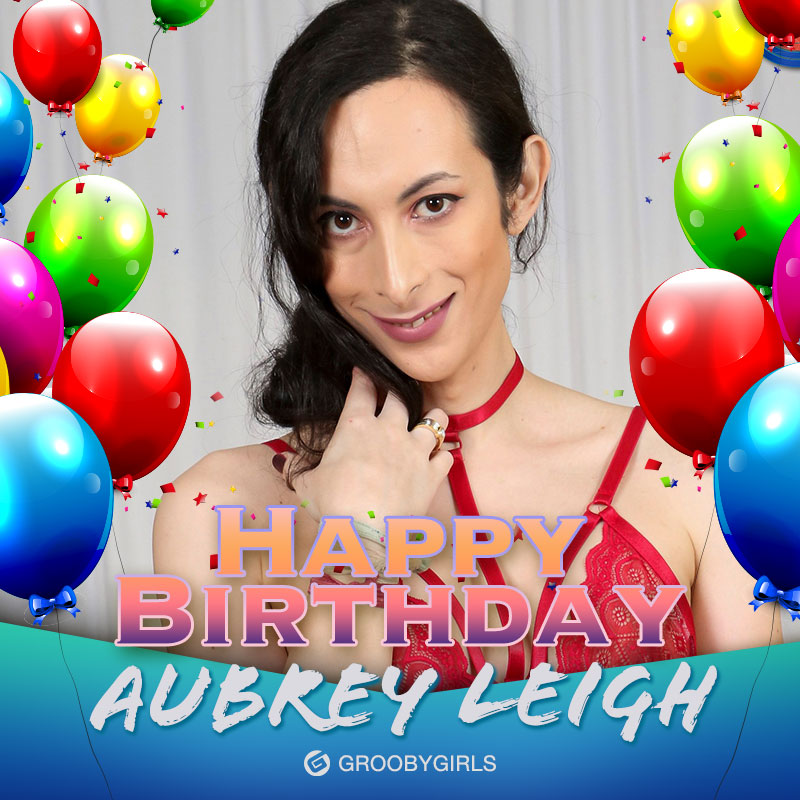 Hey there @theaubreyleigh.....happy birthday to you! 🎈