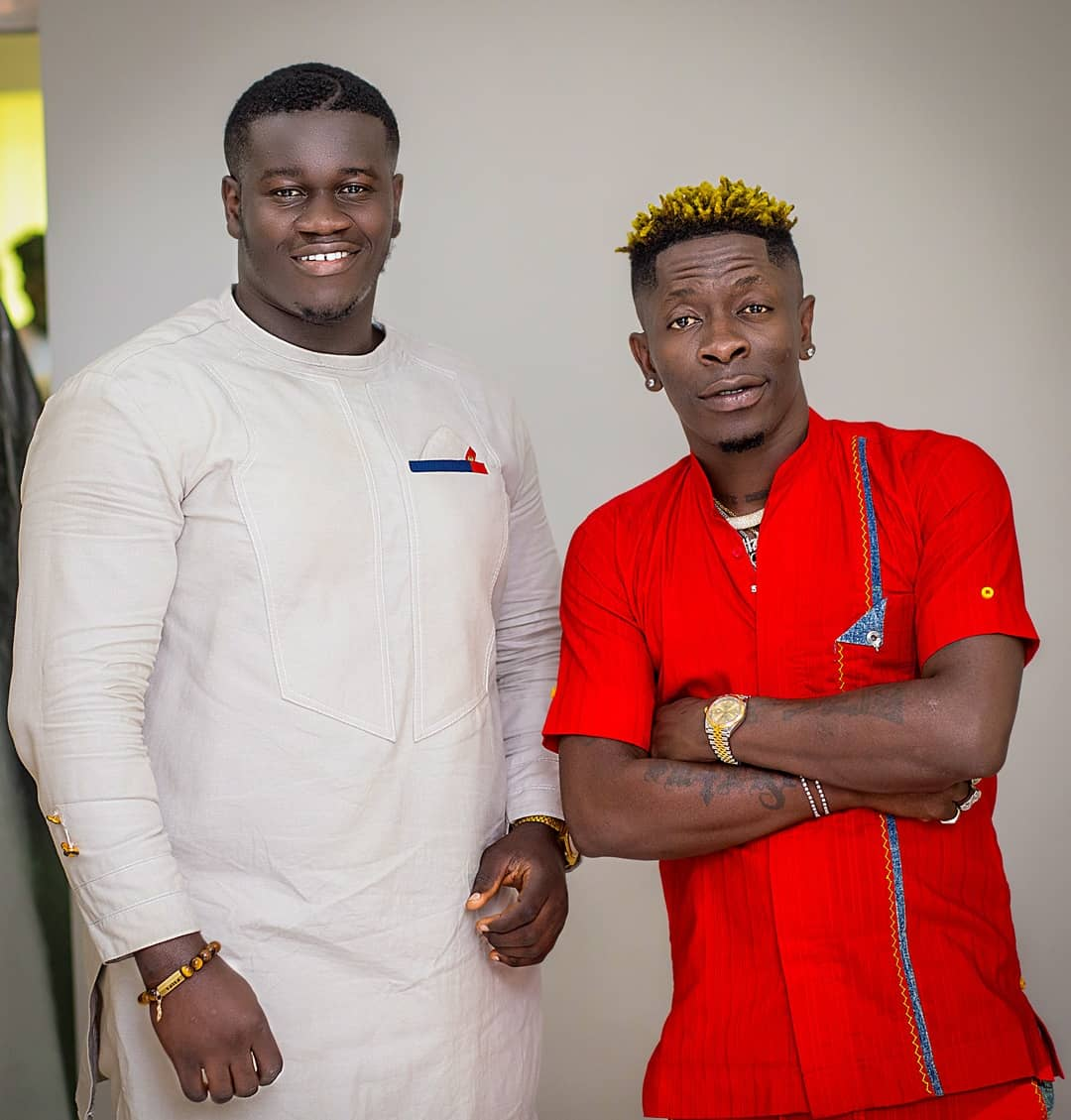 Happy birthday, boss. I wish you the very best that life has to offer. I also wish that you remain the awesome person you have always been. 👑🌟 Happy Birthday Mandela Montana @shattawalegh 🌟 👑 #Shattabration #Shattawale Shatta WALE 🌟🏅