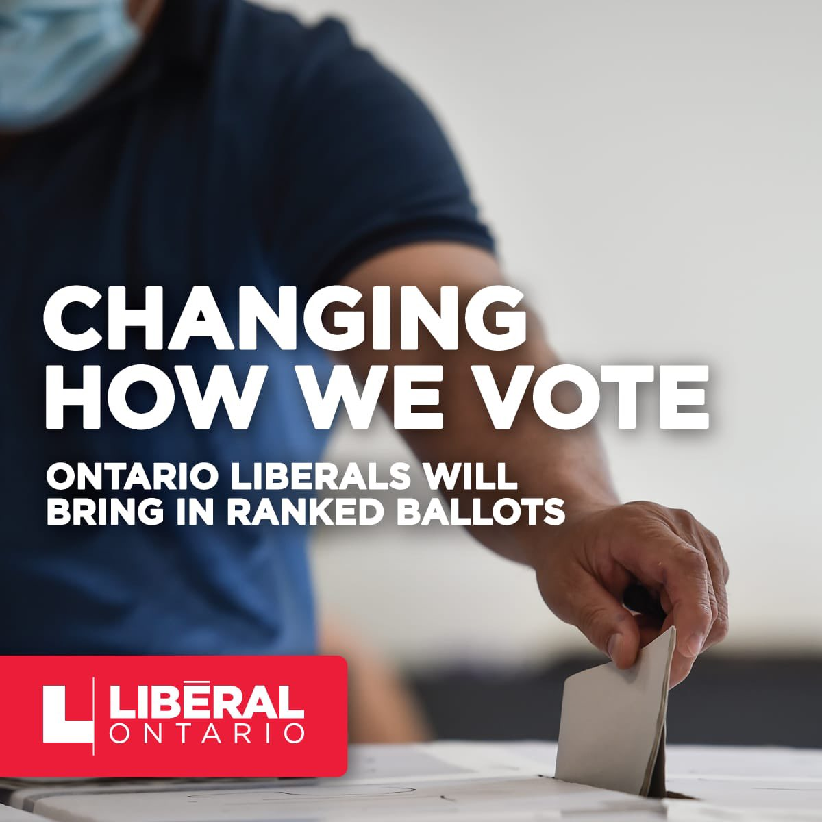 Ontario Liberals will introduce ranked ballots. It will mean that parties & leaders will have to compete for voters' second choices. It won't make sense to demonize one another, rewarding those who find common ground, and speak to voters' hopes, not their fears.  #OLPAGM #onpoli