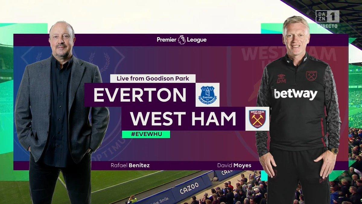 Full match: Everton vs West Ham United