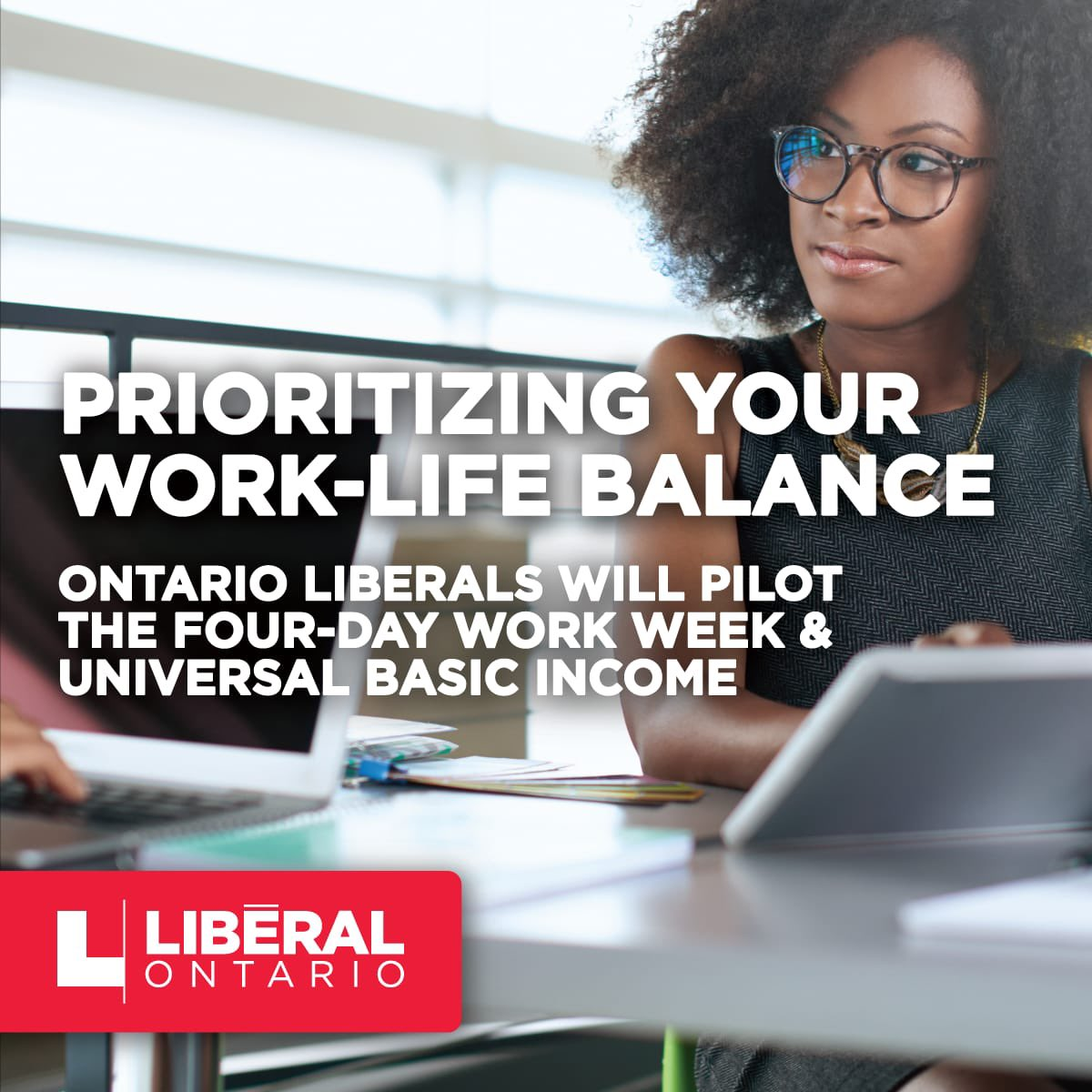An @OntLiberal government will reinstate the basic income pilot project that was cancelled by Doug Ford, and we will also launch a pilot project to analyze the potential for a four-day work-week.  #OLPAGM #onpoli