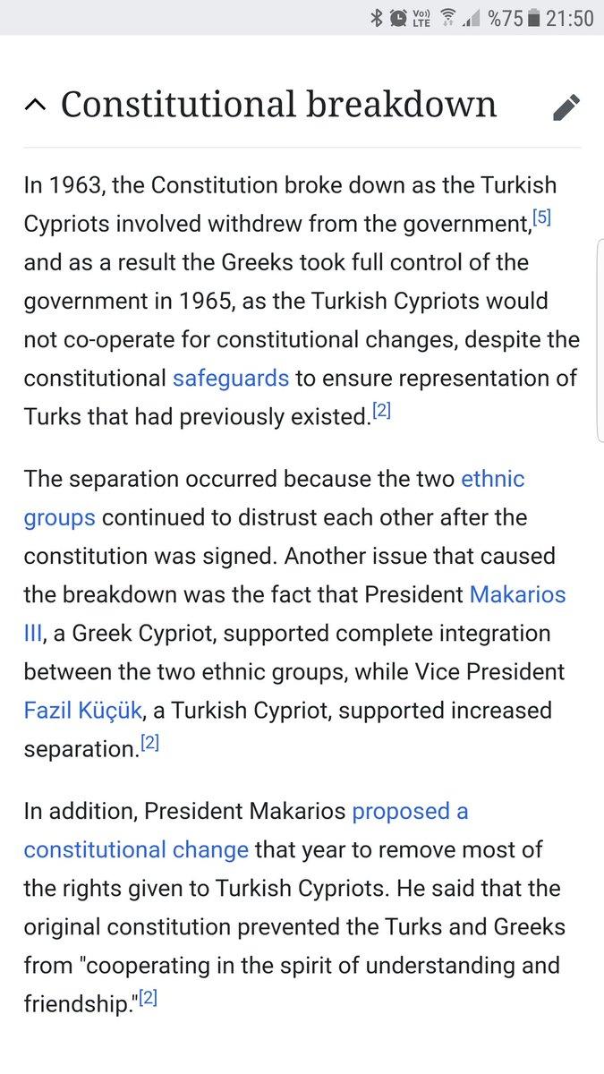 Atina Temyiz Mahkemesi 21.03.1979 tarihli 2658/79 sayılı Kararı; 'Türkiye'nin Zürih ve Londra anlaşmaları çerçevesinde garantör devlet olarak Kıbrıs'a müdahale etmesi yasaldır. Asıl sorumlular dava açılan Rum subaylardır' Harekatın yasallığı vurgulanmış #cyprus #Greece