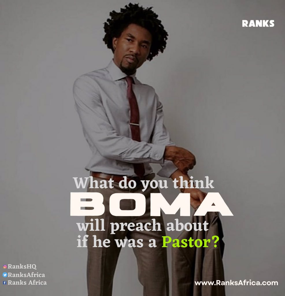 What do you think the Okra gang president @BomaAkpore will preach if he was a pastor ?? #RanksHQ