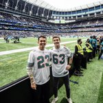 Image for the Tweet beginning: NFL's latest quarterbacks… 🏈🇬🇧