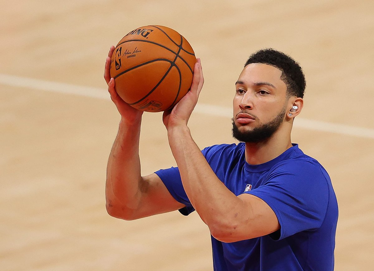 Ben Simmons practiced with the Sixers today, per @PompeyOnSixers