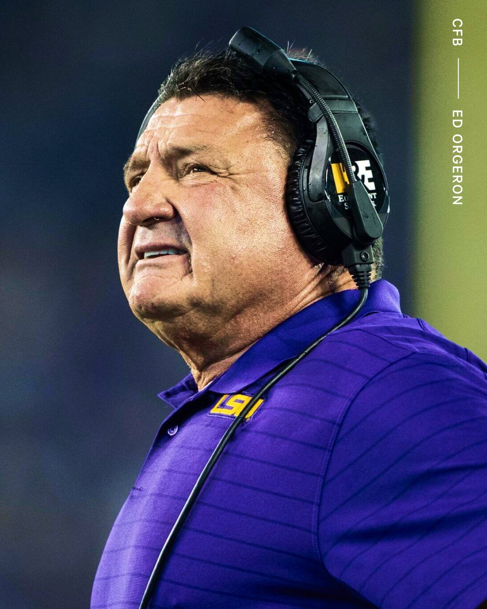 Breaking: Ed Orgeron won't return as LSU's head coach in 2022, sources confirmed to The Athletic. He is expected to finish out the 2021 season. More: bit.ly/3aMzBk0