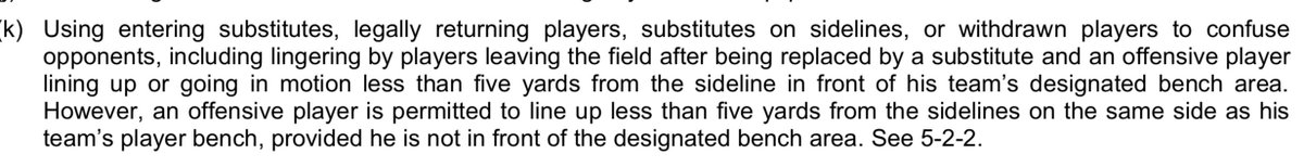 Best guess on the offsetting unsportsmanlike conduct penalties on the fake punt in the Giants-Rams game is that it was about prohibited trickery (not that Fox ever explained it): static.nfl.com/static/content…